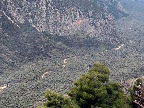 Das grüne Tal des Flusses Plistos