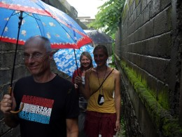 Reisen in der Regenzeit