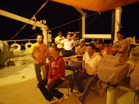 Fotografieren! Gruppenfoto mit Ehrengast II, ...